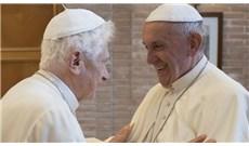 Đức Phanxicô thăm Đức Bênêđictô XVI và Phủ Quốc Vụ Khanh