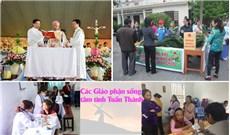 Các Giáo phận sống tâm tình Tuần Thánh