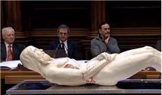 Hình dáng Chúa Giêsu được tái hiện qua khăn liệm Turin