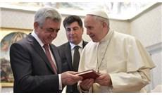 Đức Giáo Hoàng gặp gỡ phái đoàn Armenia