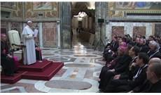 Đức Giáo Hoàng gặp gỡ các thừa sai Lòng thương xót