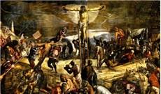 Từ thánh giá nhìn xuống Chúa Giêsu thấy những ai?