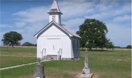 """Nhà thờ """"siêu nhỏ"""" tại bang Texas"""