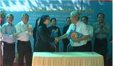 Giao tặng mặt bằng cho tu hội Nữ tử Bác ái Vinh Sơn