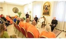 Đức Giáo Hoàng gặp gỡ các đại diện tôn giáo