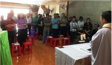 Thánh lễ đầu tiên tại giáo điểm Nậm Khắt
