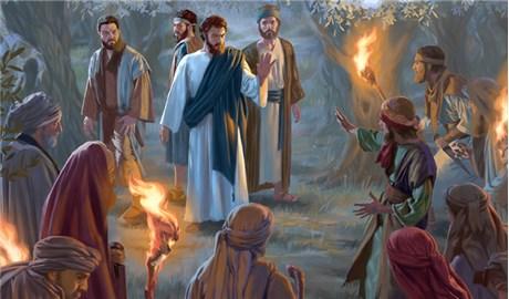 Từ trên Thánh Giá nhìn xuống Chúa Giêsu thấy những ai?