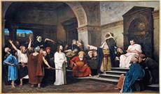Từ trên thánh giá nhìn xuống Chúa Giêsu thấy những ai? (P5)