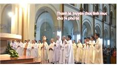 Thánh lễ truyền chức linh mục 14 phó tế