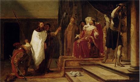 Từ trên thánh giá nhìn xuống Chúa Giêsu thấy những ai? (P6)