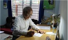 Ông giáo già góp sức cho cộng đồng