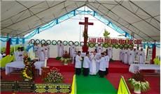 Lễ khởi công xây dựng trung tâm hành hương Ðức Mẹ Núi Cúi