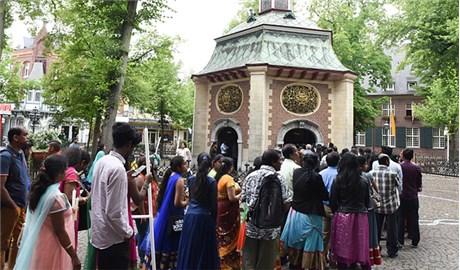 Người Tamil hành hương Ðền thánh Ðức Mẹ Kevelaer