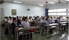 Học viên cử nhân và cao học của Học viện Công giáo Việt Nam họp mặt đầu năm với ban giảng huấn
