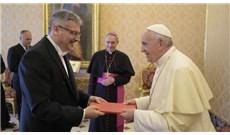 Tân Đại sứ CH Czech yết kiến Đức Thánh Cha