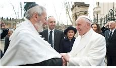 Đức Thánh Cha chúc mừng cộng đồng Do Thái tại Rome