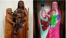"""Tượng thánh cổ bị """"phục chế"""" sai tại Tây Ban Nha"""