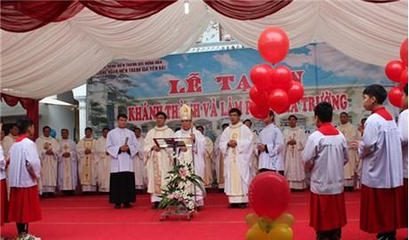 Trường mầm non tư thục Công giáo đầu tiên ở Yên Bái