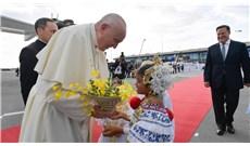 Những hình ảnh đầu tiên của Đức Giáo Hoàng tại Panama