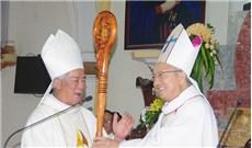 Ðức cha Anphong Nguyễn Hữu Long đã về giáo phận Vinh