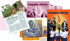 Ðọc báo xuân Công giáo và Dân tộc 2019