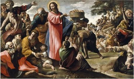 Bức tranh khảm lâu đời nhất về phép lạ bánh và cá hóa nhiều