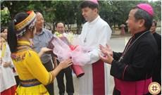 Ðức Tổng Giám mục Marek Zalewski  thăm Giáo phận Lạng Sơn - Cao Bằng