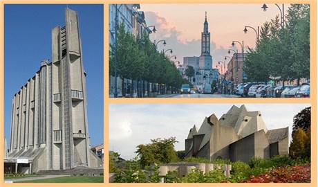 Những thánh đường tiêu biểu cho kiến trúc thời hậu chiến
