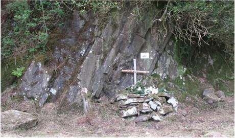 Bàn thờ đá ngoài trời của các Kitô hữu Ireland xưa