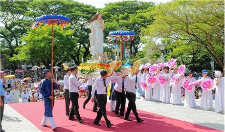 Giáo phận Ðà Nẵng mở Năm Thánh Ðức Mẹ Trà Kiệu