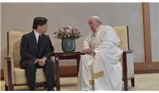 Đức Thánh Cha gặp gỡ Nhật hoàng Naruhito