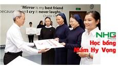 """NHG đồng hành với Ủy ban Giáo dục Công giáo Việt Nam trao học bổng """"Mầm Hy Vọng"""""""