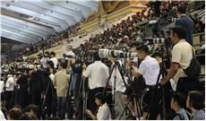 Báo chí tác nghiệp tại một sự kiện Công giáo lớn ở Thái Lan