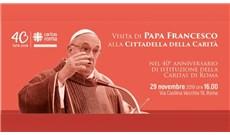 Đức Giáo Hoàng thăm Caritas Rome nhân 40 năm thành lập