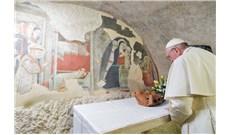 Đức Thánh Cha thăm nơi dựng hang đá đầu tiên