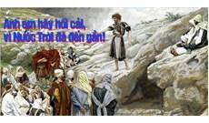 HỌC HỎI PHÚC ÂM CHÚA NHẬT II MÙA VỌNG - NĂM A