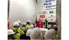 Đức Giám mục làm phép công trình tàu điện ngầm Paris