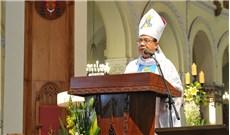 Ðức Cha Giuse Ðỗ Mạnh Hùng từ giã Tổng Giáo phận TPHCM
