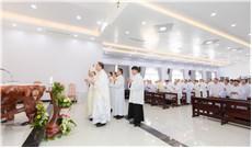 Ðức Cha Tôma Nguyễn Văn Trâm kết thúc sứ vụ Giám quản Tông tòa Giáo phận Phan Thiết