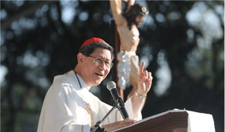 Ðức Hồng y Luis Antonio Gokim Tagle được bổ nhiệm làm tân Bộ trưởng Bộ Truyền giáo