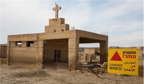 Nỗ lực tháo dỡ bom mìn tại nơi  Chúa Giêsu chịu phép Rửa