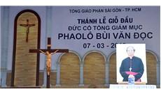 Chuẩn bị cho lễ giỗ đầu của Đức cố TGM Phaolô Bùi Văn Đọc