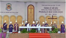 Còn đọng mãi lòng biết ơn trong từng giáo dân Sài Gòn