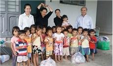 Mái nhà của những đứa trẻ dân tộc thiểu số