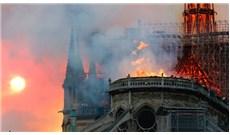 Cháy lớn ở nhà thờ Đức Bà Paris