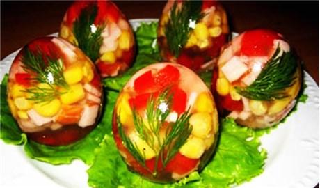 Mừng lễ Phục Sinh bằng món trứng rau củ