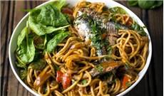 Mỳ Ý sốt cá mòi