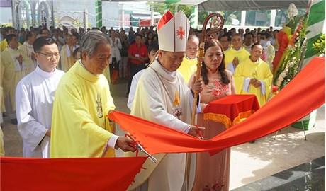 Cung hiến và khánh thành nhà nguyện An Phú, GP Long Xuyên