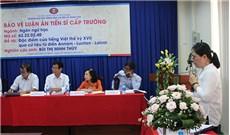 Nữ tu Maria Thérèse Minh Thùy trình luận án tiến sĩ ngôn ngữ học