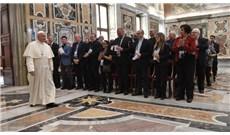 Đức Thánh Cha gặp gỡ các cha tuyên úy ngành hàng không